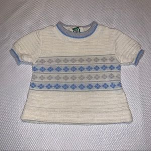 Vintage Bull Frog Knits Sweater, size 6-9mo